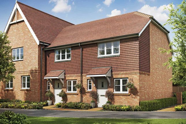 """Thumbnail End terrace house for sale in """"The Salisbury"""" at Eagle Avenue, Cowplain, Waterlooville"""