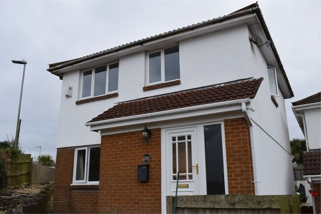 Thumbnail Detached house to rent in The Glade, West Cross, Swansea