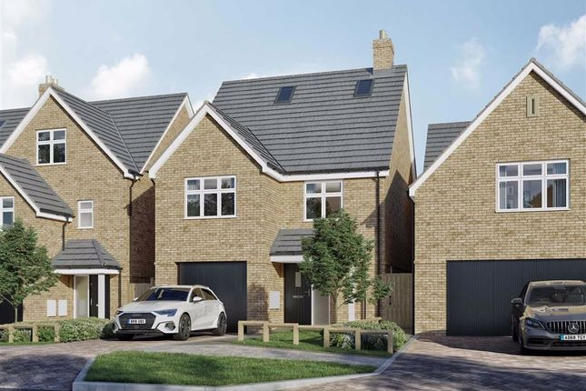 Thumbnail Detached house for sale in Malvern Place, Stevenage, Hertfordshire