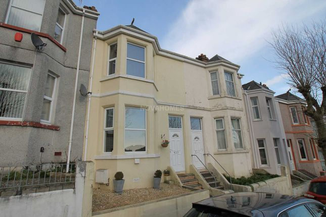 Thumbnail Terraced house for sale in Carlton Terrace, Plymouth