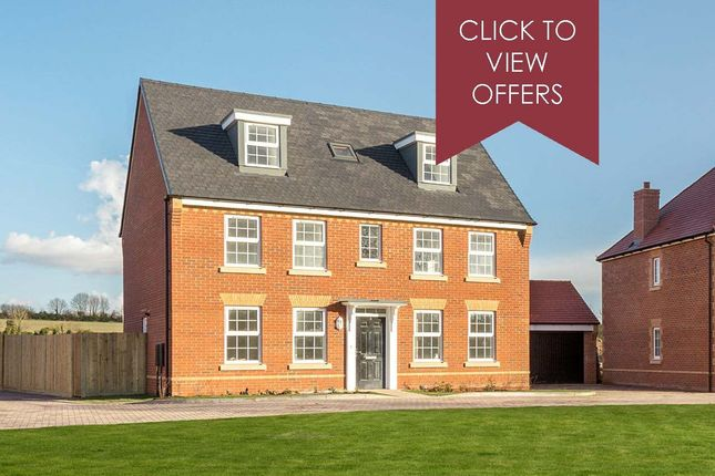 "Thumbnail Detached house for sale in ""Buckingham"" at Woodcock Square, Mickleover, Derby"