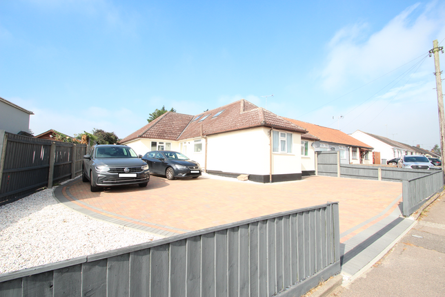 Thumbnail Detached bungalow for sale in Beech Road, Rushmere St Andrew, Ipswich