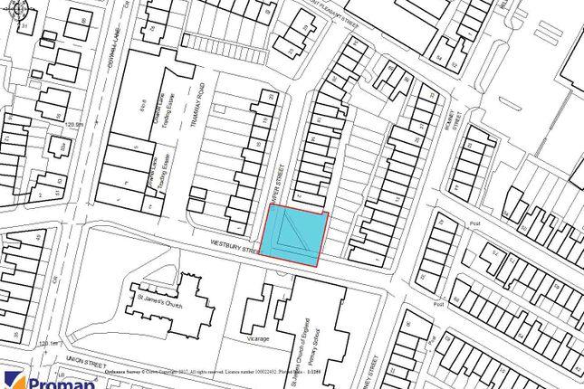 Land for sale in Cowper Street, Ashton-Under-Lyne