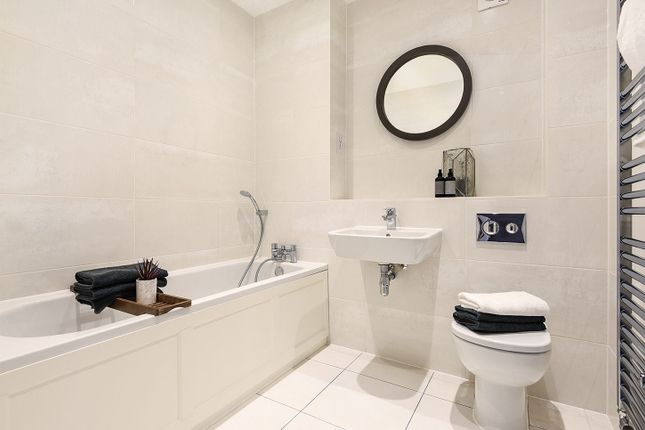"Typical Bathroom of ""The Bampton V1"" at Friar Close, Enfield EN2"
