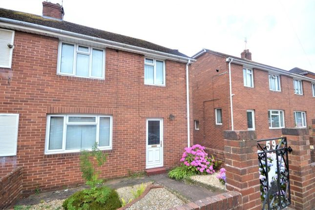 Thumbnail Semi-detached house to rent in Kingsway, Heavitree, Exeter, Devon