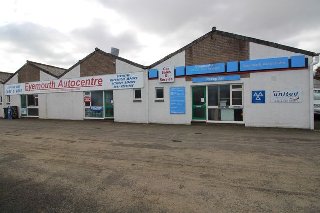 Thumbnail Commercial property for sale in Eyemouth, Scottish Borders