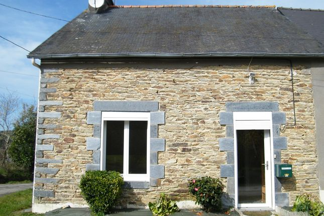 Thumbnail Semi-detached house for sale in 56140 Tréal, Brittany, France