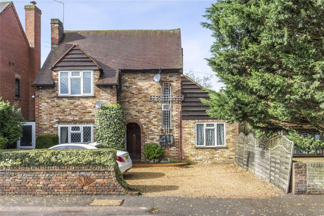 Thumbnail Detached house for sale in High Street, Harefield, Uxbridge, Middlesex