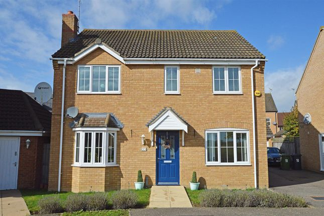 Thumbnail 4 bed detached house for sale in Black Swan Crescent, Hampton Hargate, Peterborough