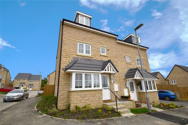 Thumbnail Semi-detached house to rent in Staincliffe Drive, Keighley, Bradford, West Yorkshire