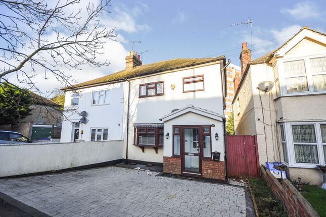 Thumbnail Semi-detached house for sale in Crescent Road, Warley, Brentwood