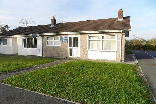 Thumbnail Semi-detached bungalow for sale in Landseer View, Hook, Haverfordwest