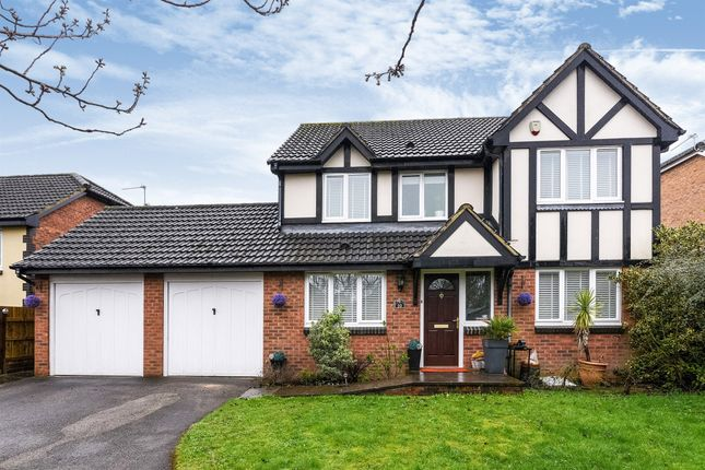 Thumbnail Detached house for sale in Hensol Close, Rogerstone, Newport