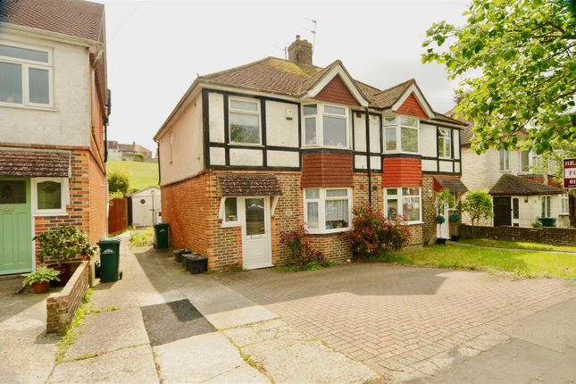 Thumbnail Semi-detached house for sale in Mackie Avenue, Brighton