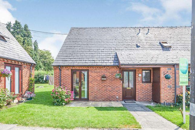 Thumbnail End terrace house for sale in Top Farm Court, Kilburn, Belper