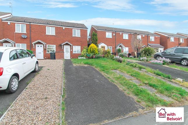 Thumbnail 1 bed end terrace house for sale in Weavers Rise, Netherton, Dudley