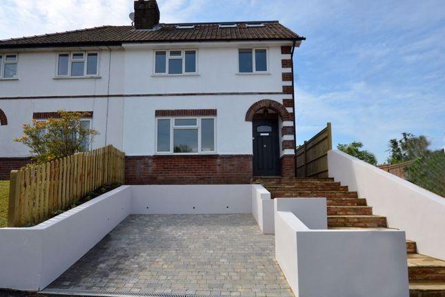 Thumbnail Semi-detached house to rent in Wickenden Road, Sevenoaks, Kent