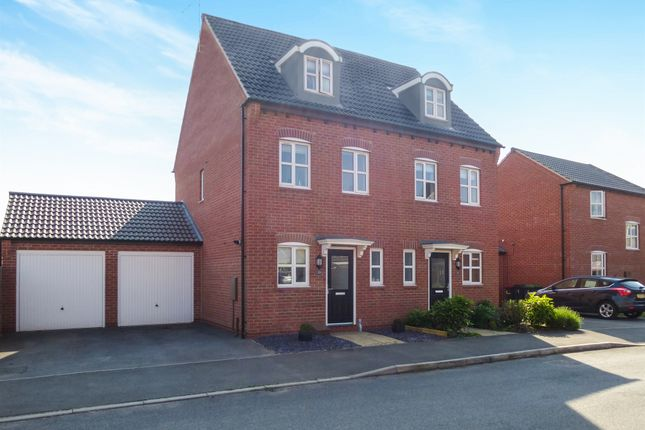 Semi-detached house for sale in Ryknield Road, Hucknall, Nottingham