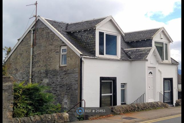 Thumbnail Flat to rent in Victoria Road, Dunoon