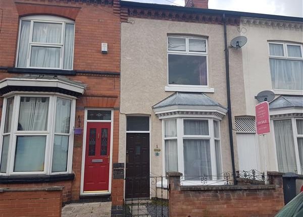 Thumbnail Terraced house to rent in Sylvan Street, Leicester