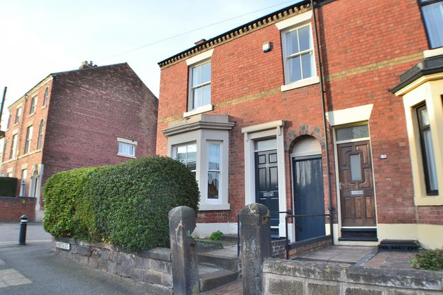 Thumbnail End terrace house to rent in North Street, Derby