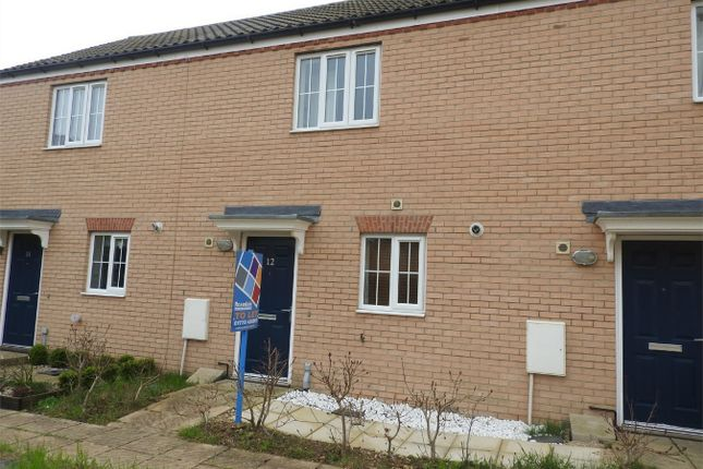 Thumbnail Terraced house to rent in Ascot Close, Bourne, Lincolnshire