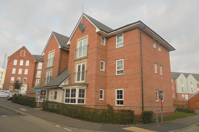 2 bed flat to rent in The Moorings, Coventry CV1