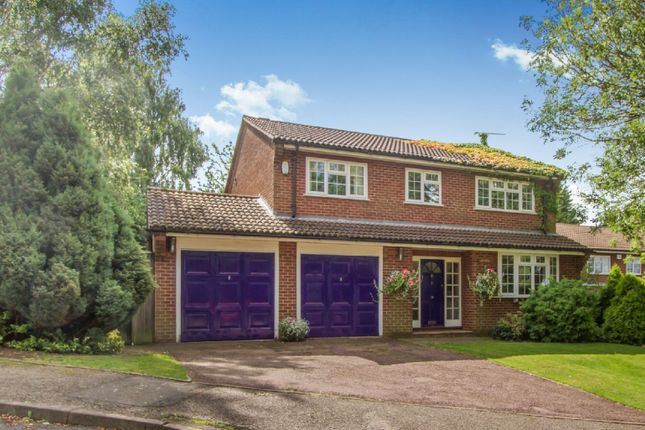 Thumbnail Detached house for sale in Pine Tree Close, Oadby, Leicester