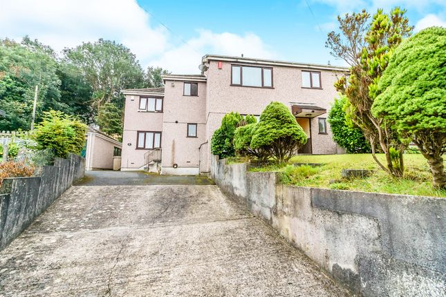Thumbnail Semi-detached house for sale in Rochford Crescent, Plymouth