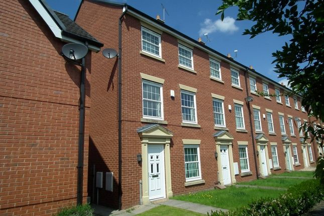 Thumbnail Town house to rent in Carter Close, Nantwich
