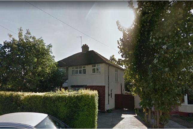 Thumbnail Semi-detached house to rent in Dickens Avenue, Uxbridge