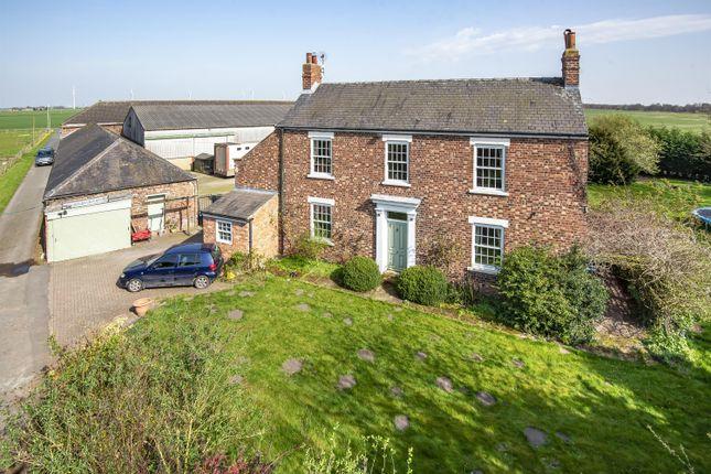 Thumbnail Detached house for sale in Priory Farm, Creykes Sidings, Rawcliffe Bridge, Goole