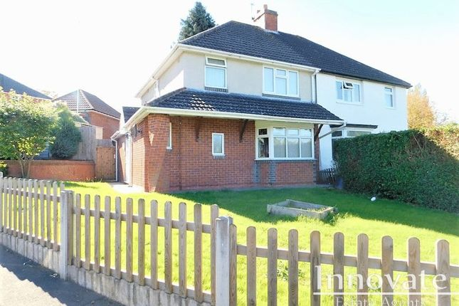 Thumbnail Semi-detached house to rent in Rathbone Road, Bearwood, Smethwick