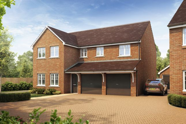 """Thumbnail Detached house for sale in """"The Fenchurch"""" at Fellows Close, Weldon, Corby"""