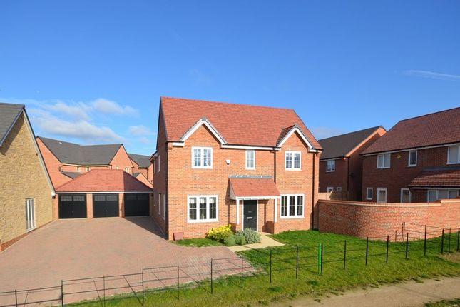 Thumbnail Detached house for sale in Home Farm Drive, Buckton Fields, Northampton