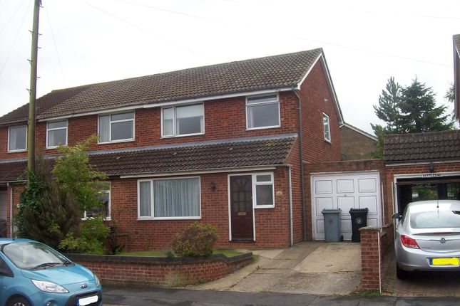 Thumbnail Semi-detached house to rent in Churchill Road, Stamford