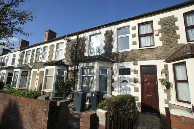 Thumbnail Terraced house to rent in Richard Street, Cathays, Cardiff