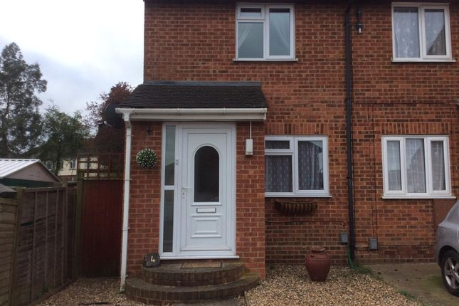 Thumbnail End terrace house to rent in Damien Close, Chatham, Kent