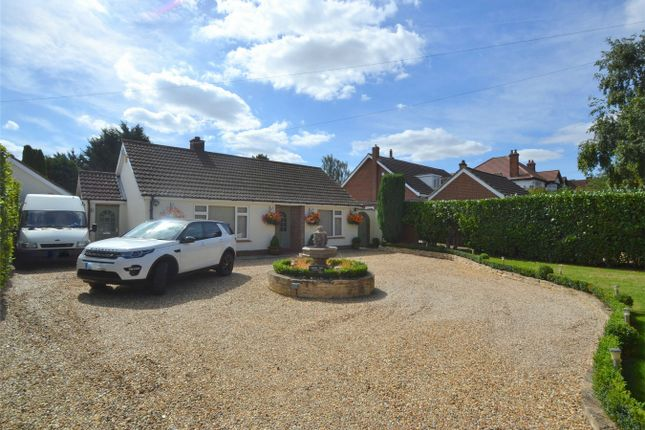Thumbnail Detached bungalow for sale in Perry Road, Buckden, St Neots, Cambridgeshire