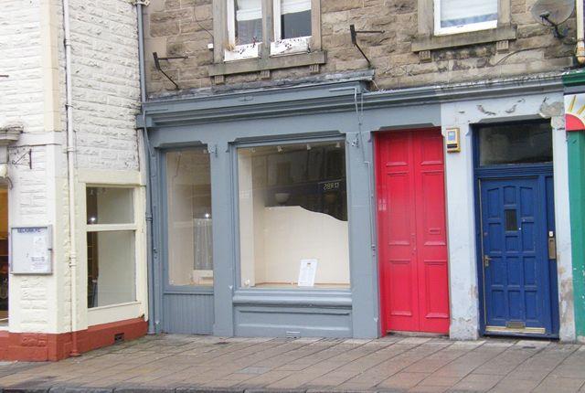 Retail premises for sale in High Street, Selkirk