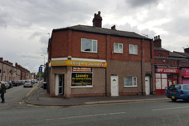Thumbnail Block of flats for sale in Leigh Road, Leigh