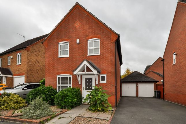 Thumbnail Link-detached house for sale in Rosedale Close, Brockhill, Redditch