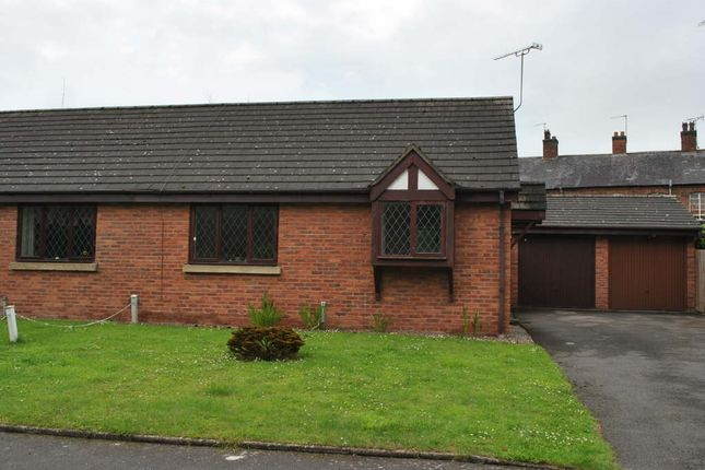 Thumbnail Semi-detached bungalow to rent in Waterside Close, Whitchurch, Shropshire