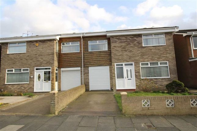 Thumbnail Semi-detached house to rent in Moor Close, North Shields
