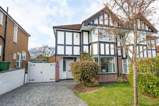 Thumbnail Semi-detached house for sale in Lakeside Drive, Bromley