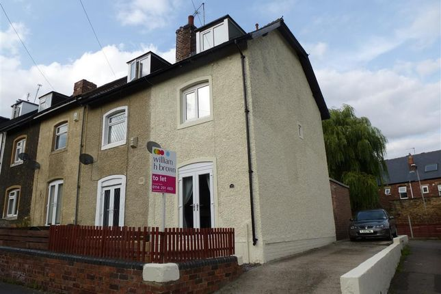 Thumbnail End terrace house to rent in Coisley Road, Woodhouse, Sheffield