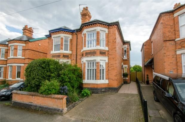 Thumbnail Semi-detached house for sale in The Hill Avenue, Worcester