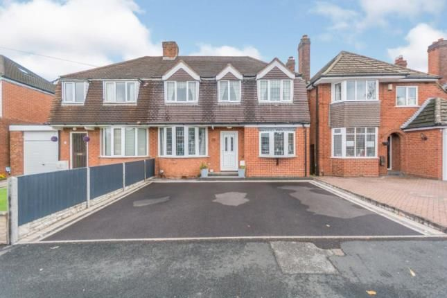 Thumbnail Semi-detached house for sale in Aversley Road, Birmingham, West Midlands