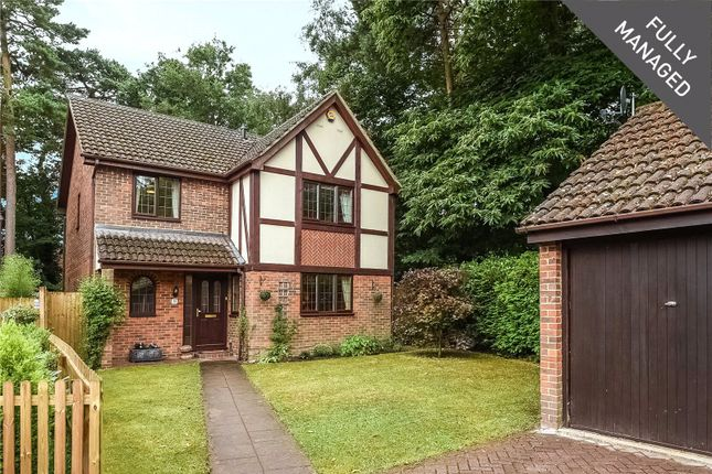 Thumbnail Detached house to rent in Holme Close, Crowthorne, Berkshire