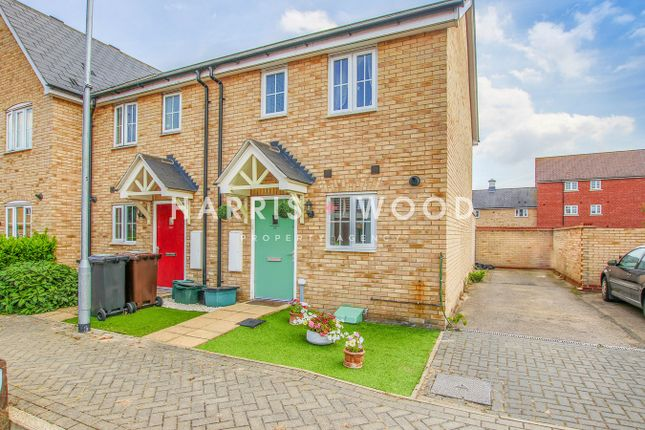 Thumbnail Semi-detached house for sale in Fowler Road, Colchester